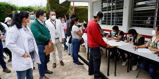 Vacunación covid en Chiapas avanza con el trabajo de autoridades federales y locales: Zoé Robledo   El Imparcial de Oaxaca