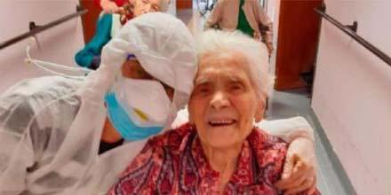 Especialistas estudian caso de abuelita de 90 años que tenía dos variantes de covid | El Imparcial de Oaxaca