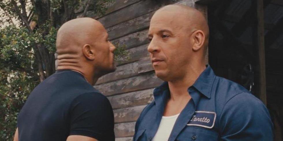 'La roca' se ríe por declaraciones hechas por Vin Diesel sobre su pelea | El Imparcial de Oaxaca