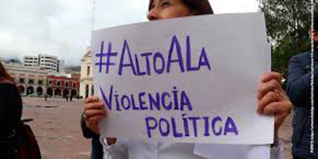 Acumulan 38 quejas por violencia política de género | El Imparcial de Oaxaca
