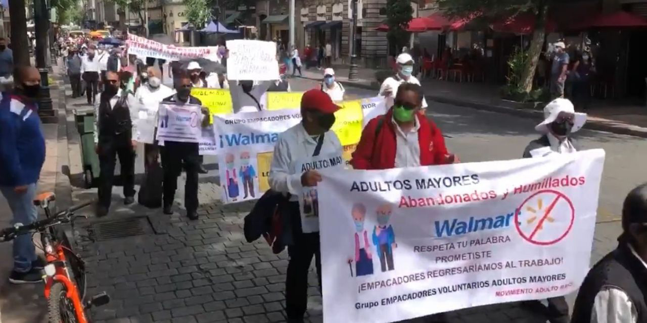 INAPAM y Walmart firman convenio para que abuelitos empacadores regresen a laborar | El Imparcial de Oaxaca