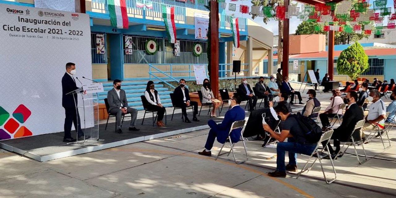 El gobierno de Oaxaca inauguró ciclo escolar 2021-2022 | El Imparcial de Oaxaca