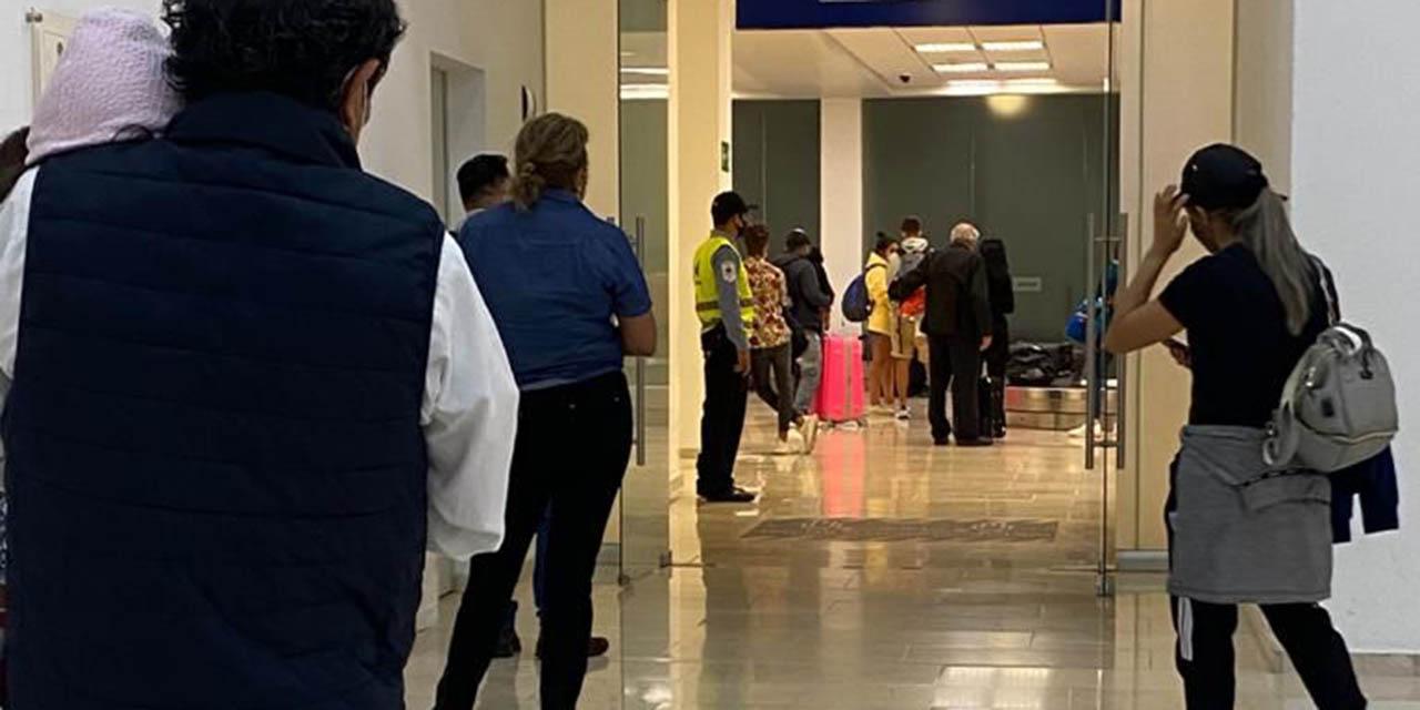 Flujo en aeropuerto de Oaxaca, 20% por debajo a prepandemia | El Imparcial de Oaxaca