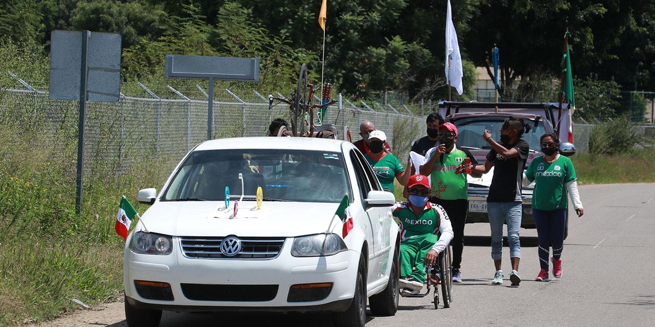 Atletas paralímpicos de Oaxaca demandan atención | El Imparcial de Oaxaca