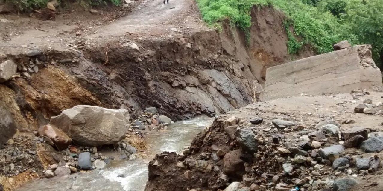 Dejan lluvias daños  en 40 municipios   El Imparcial de Oaxaca