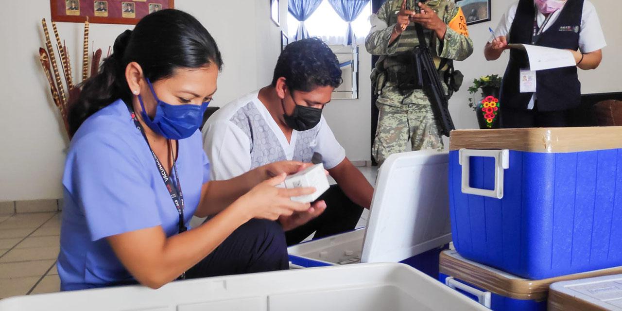 Aplicarán 16 mil segundas dosis a personas de 50-59 en Tehuantepec | El Imparcial de Oaxaca