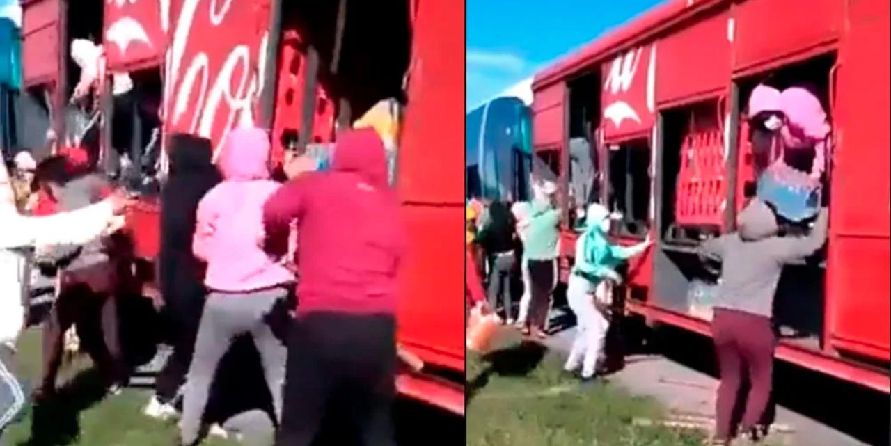 Normalistas de Morelos saquean camiones repartidores en autopista Siglo XXI | El Imparcial de Oaxaca