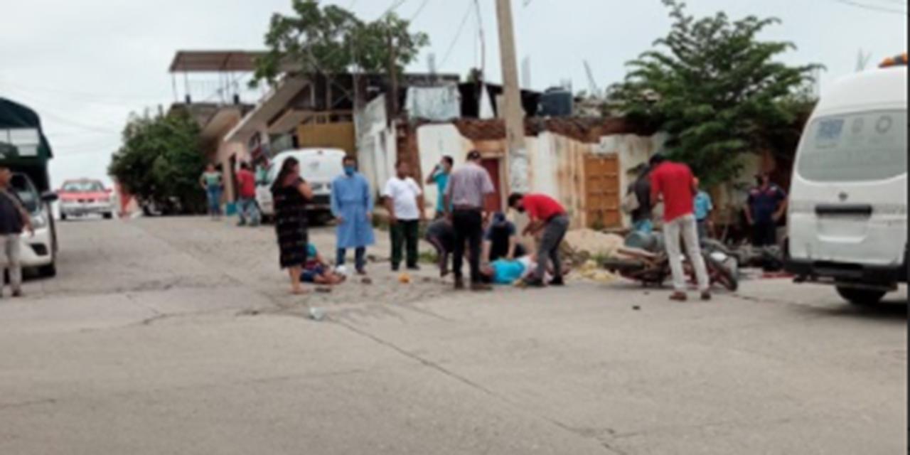 Chocan motociclistas en Pinotepa Nacional | El Imparcial de Oaxaca