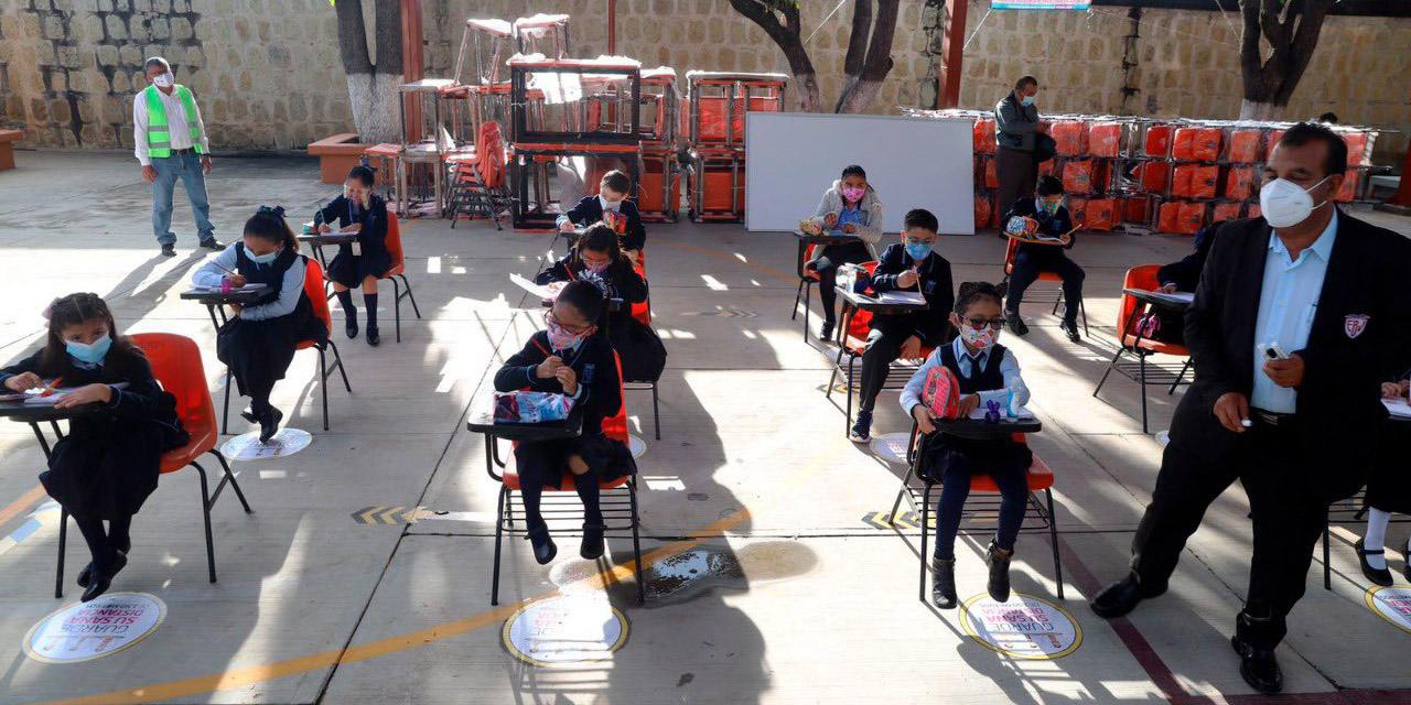Estudiantes y maestros de regreso a las aulas con el deseo de aprender: asegura SEP   El Imparcial de Oaxaca