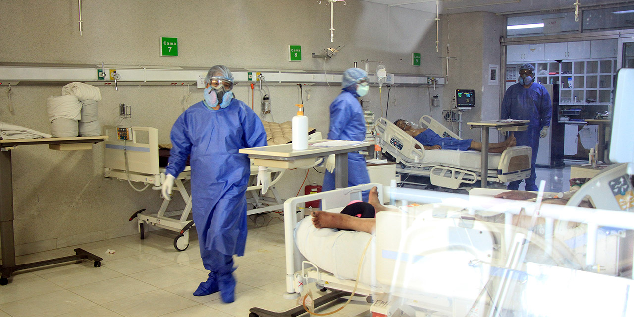 45% de personal de Salud del área médica ha fallecido por Covid-19   El Imparcial de Oaxaca