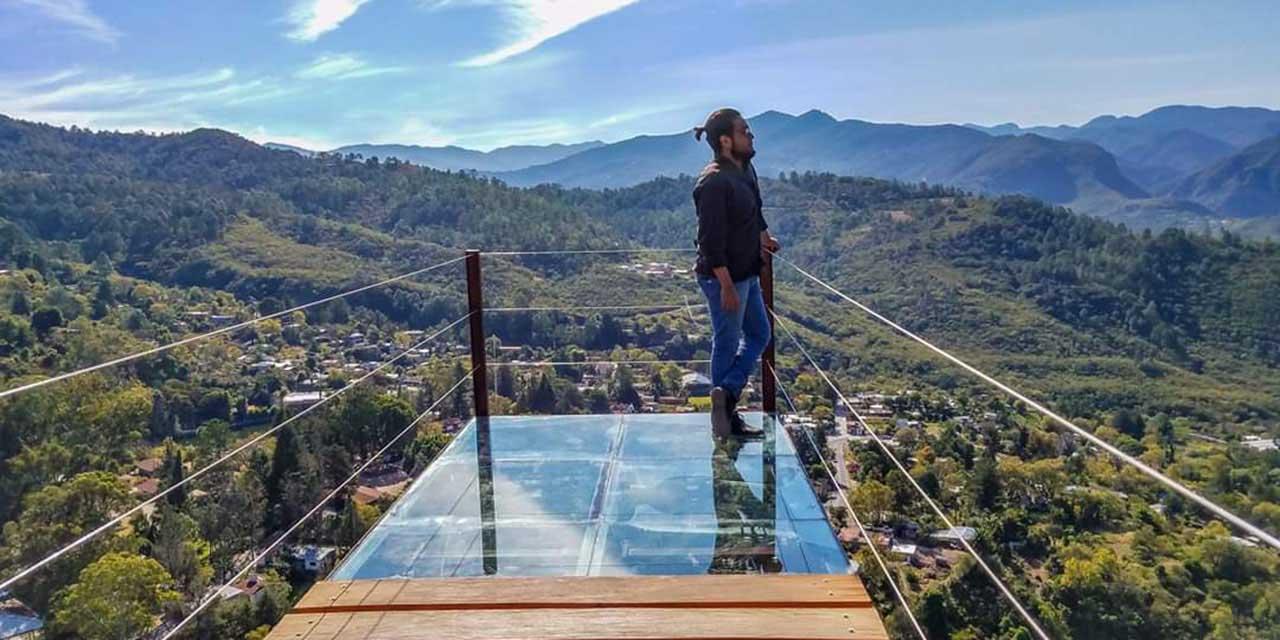 Para las fiestas patrias, podrían abrir mirador de cristal de Ixtlán | El Imparcial de Oaxaca
