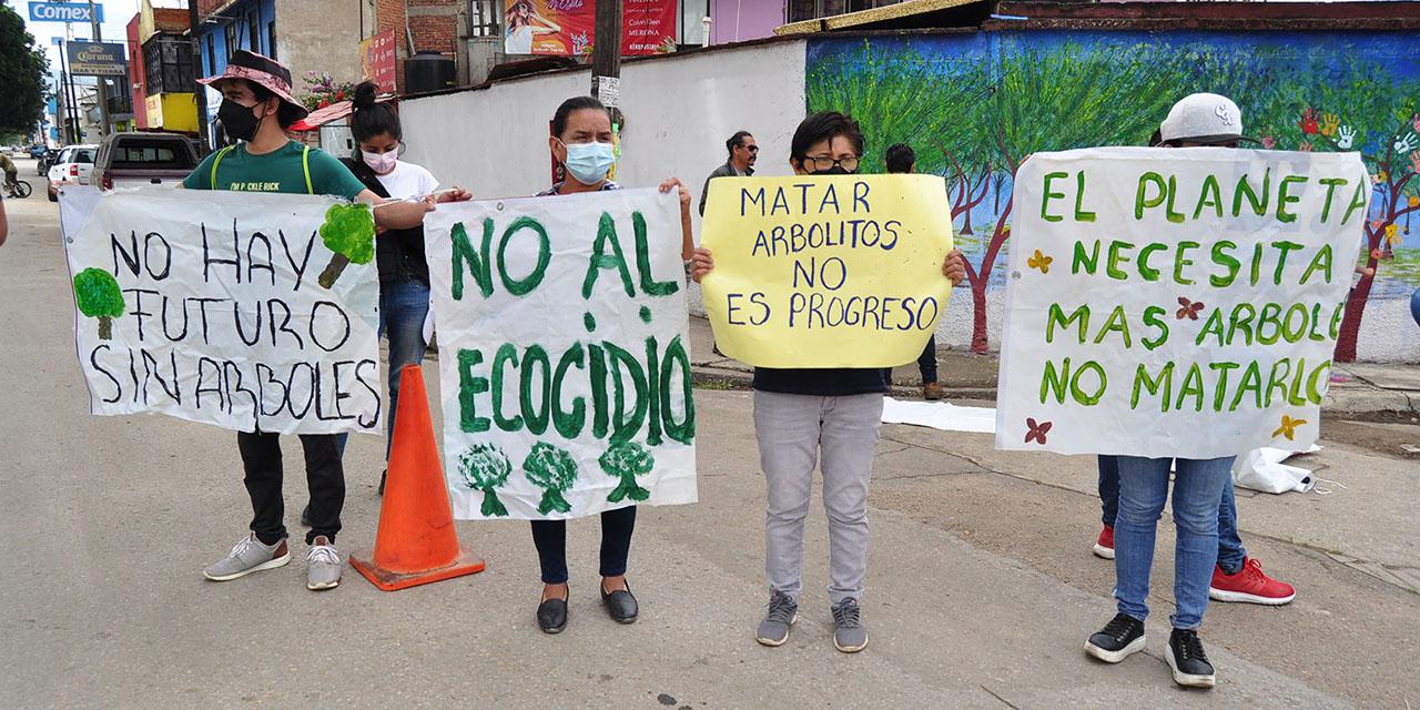 Exigen replantear ampliación de avenida Símbolos Patrios   El Imparcial de Oaxaca