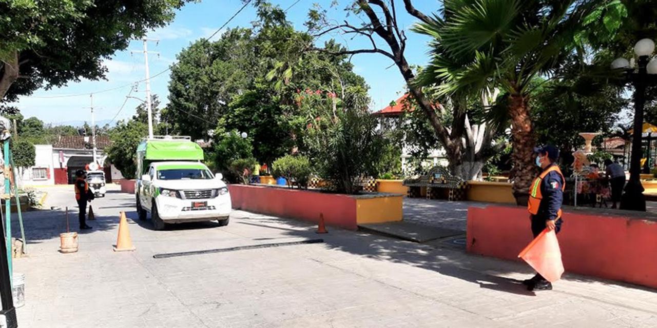 Sancionarán con trabajo comunitario a quien no porte el cubrebocas en Teotitlán   El Imparcial de Oaxaca
