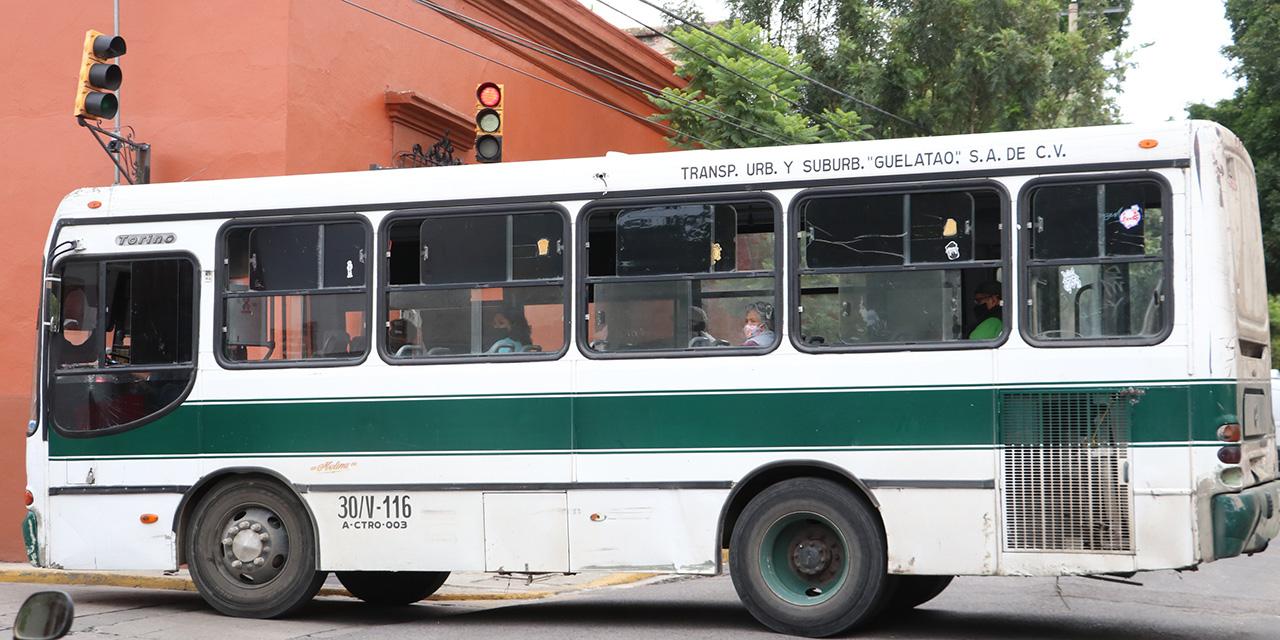 Transportistas incumplen con medidas sanitarias   El Imparcial de Oaxaca