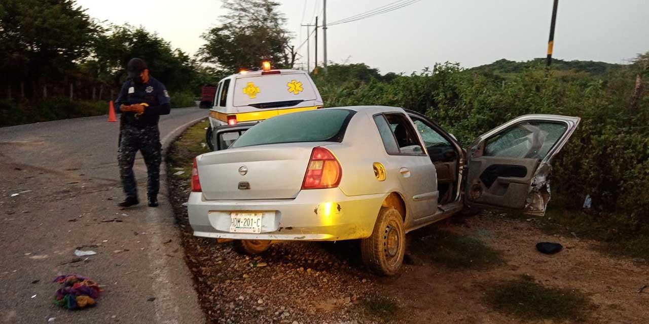 Fatal choque en Pinotepa   El Imparcial de Oaxaca