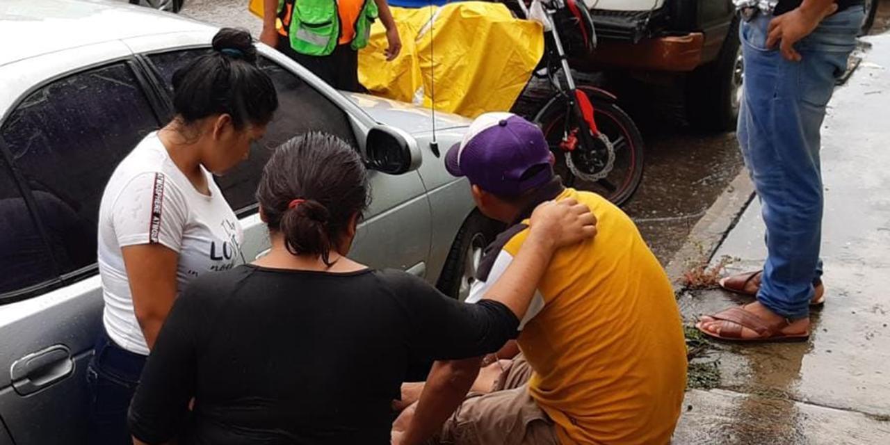 Derrapa en pleno centro de Matías Romero | El Imparcial de Oaxaca
