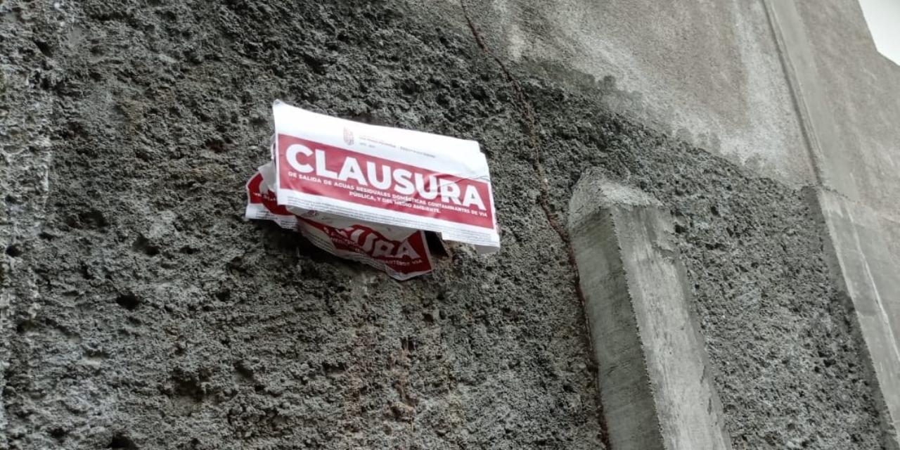 Truenan contra vecino que vierte aguas negras en callejón | El Imparcial de Oaxaca