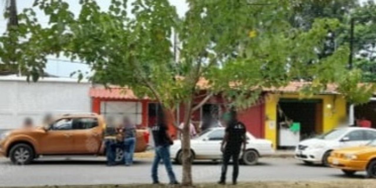 Catean bar y detienen  a un sujeto   El Imparcial de Oaxaca