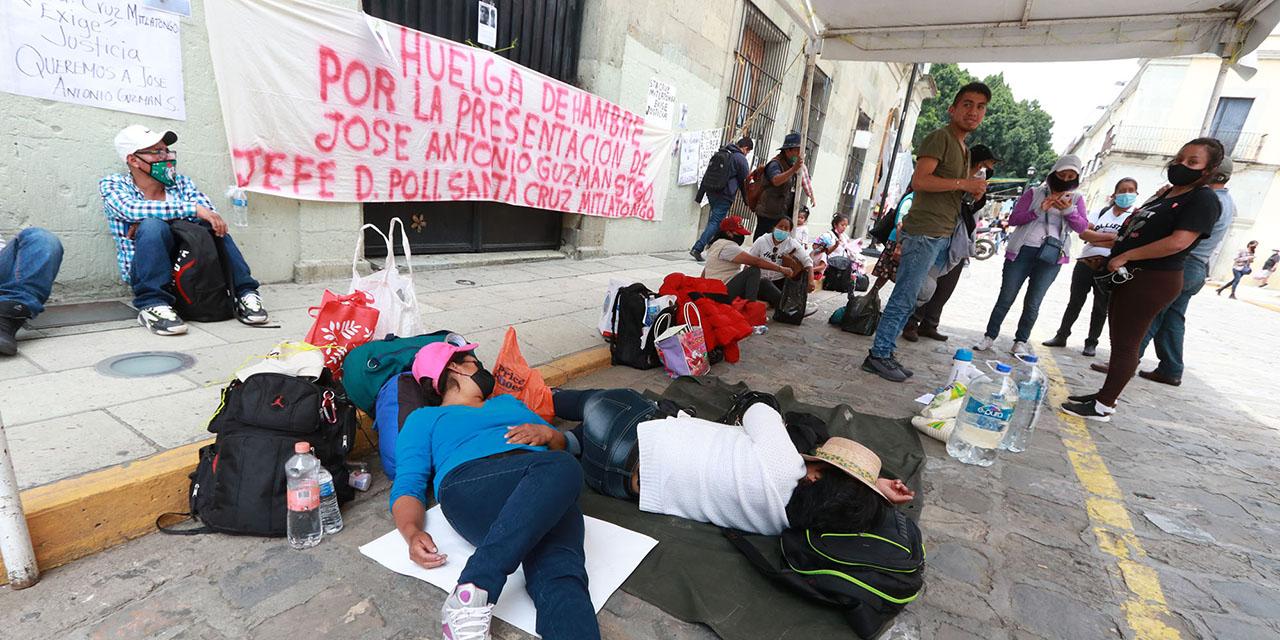 Instalan huelga de hambre en Palacio de Santa Cruz Mitlatongo | El Imparcial de Oaxaca
