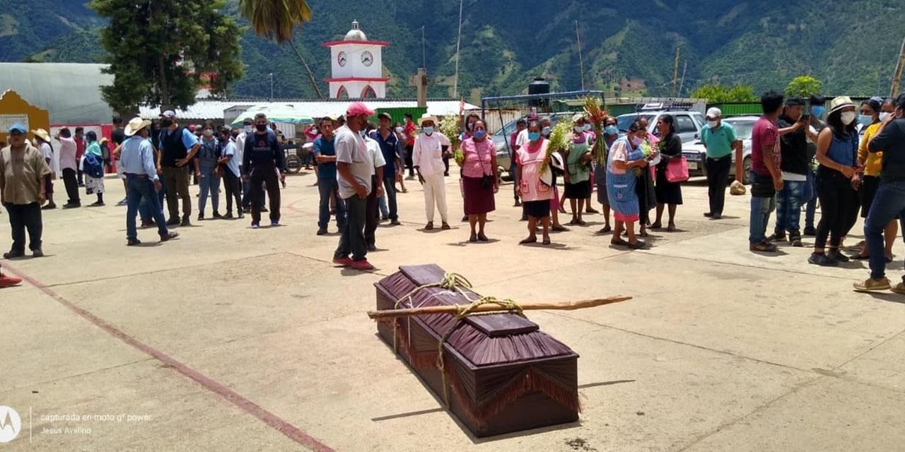 Exigen justicia por el asesinato de una persona de la tercera edad en la Sierra Mazateca | El Imparcial de Oaxaca