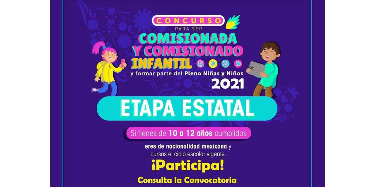 Invitan a participar en concurso para ser comisionado infantil | El Imparcial de Oaxaca