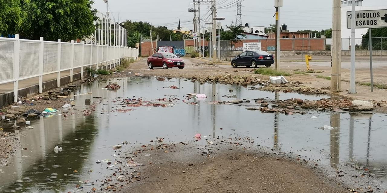 En el limbo, calles destrozadas en zona conurbada de Oaxaca   El Imparcial de Oaxaca