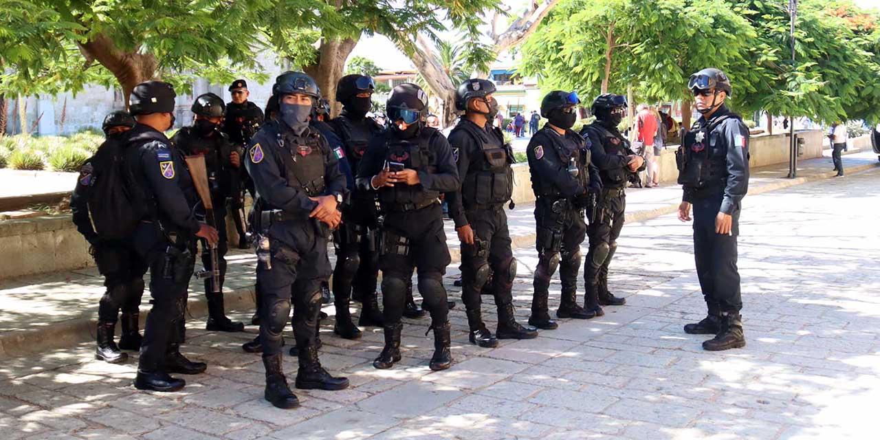 Estiman en 100, el déficit de policías en Oaxaca de Juárez | El Imparcial de Oaxaca