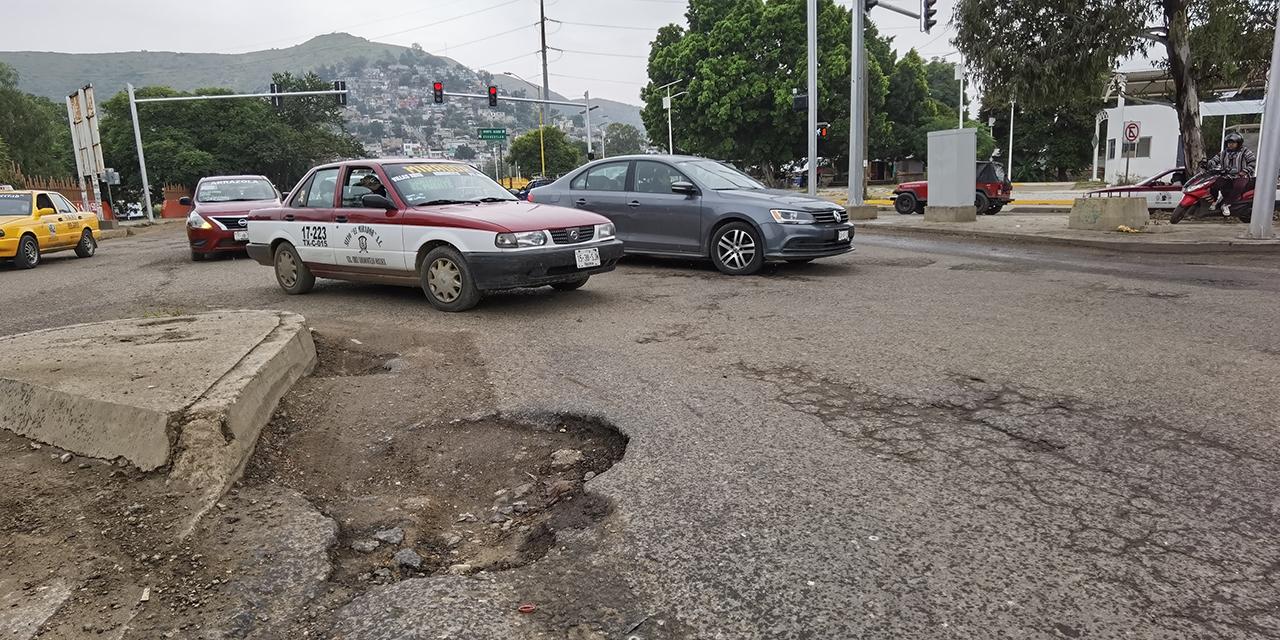 Baches agobian a los oaxaqueños; prevalece abandono gubernamental | El Imparcial de Oaxaca