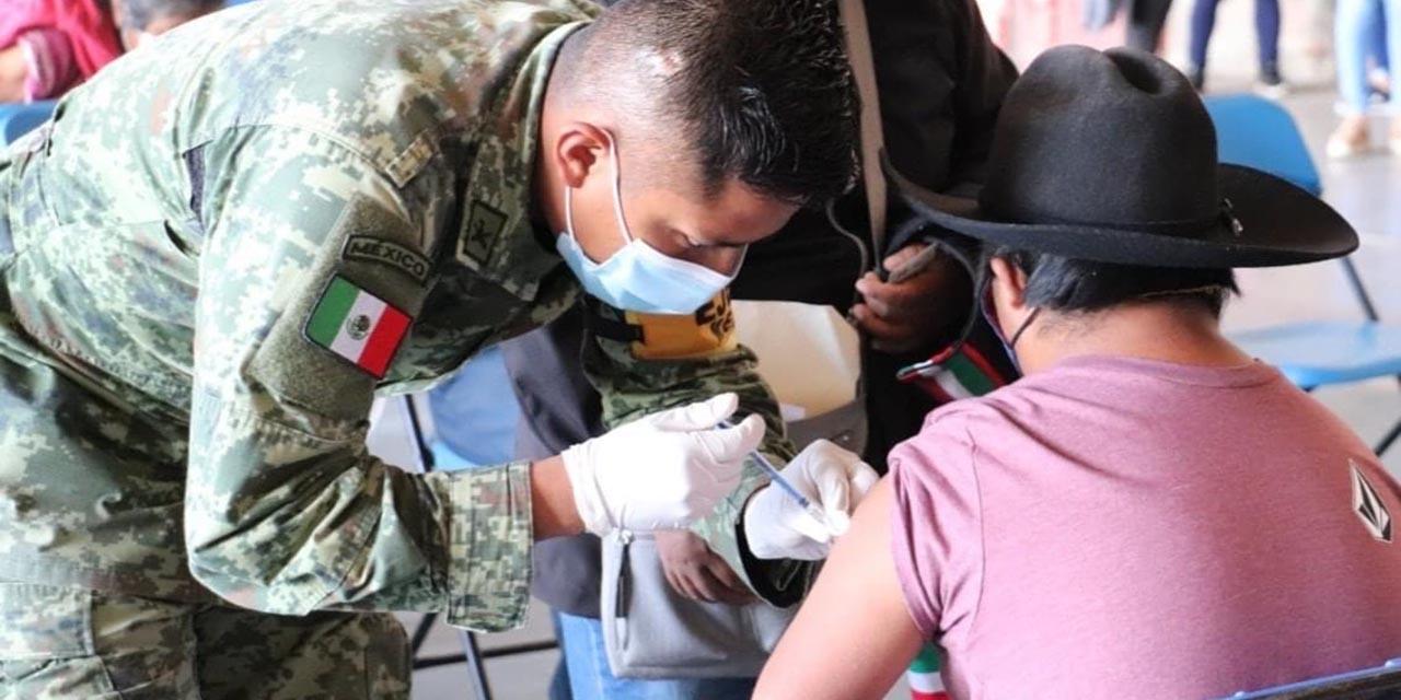 Más de 15 mil vacunas aplican en Tlaxiaco   El Imparcial de Oaxaca