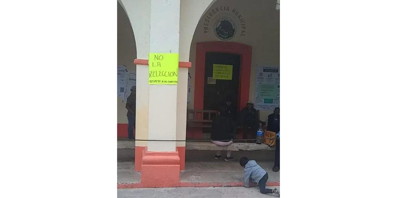 No hay acuerdos entre autoridades electas de Suchitepec e inconformes | El Imparcial de Oaxaca