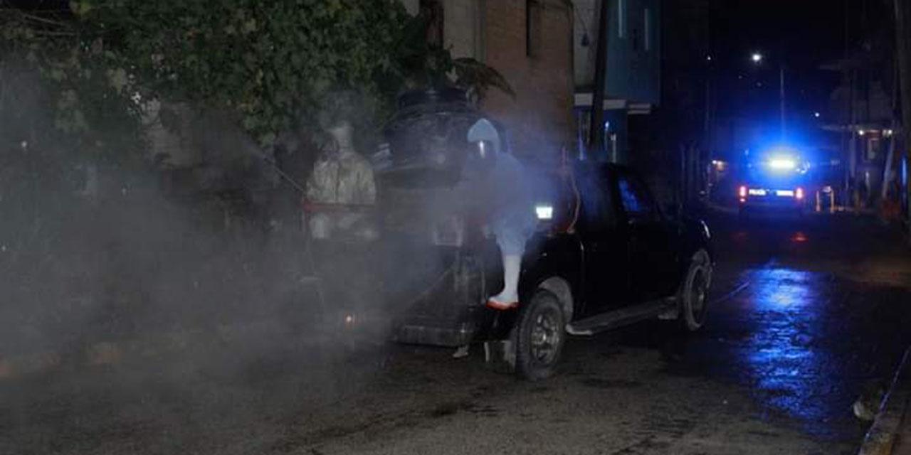 El Ayuntamiento Huautleco sigue desinfectando calles por Covid-19   El Imparcial de Oaxaca