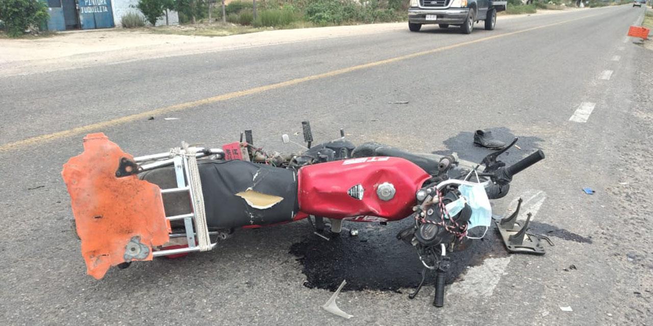 Uno de cada 4 accidentes de tránsito involucra una motocicleta | El Imparcial de Oaxaca