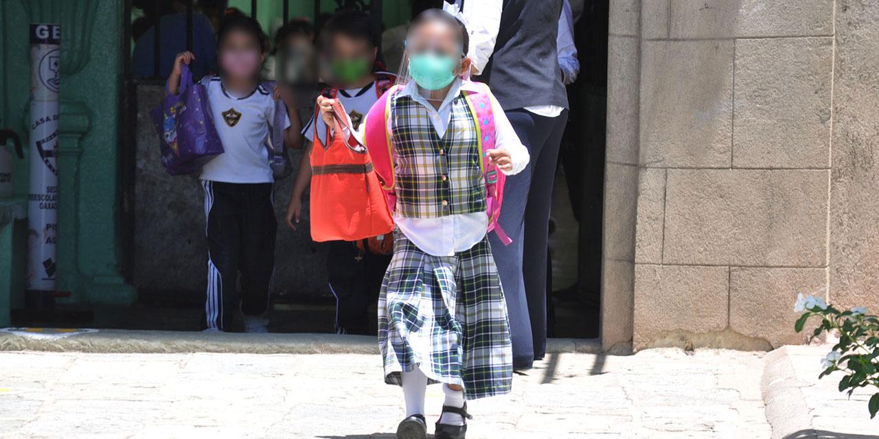 Alegría, temor e inquietud en este regreso a clases | El Imparcial de Oaxaca
