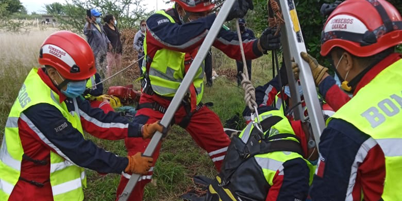 Lo rescatan de un pozo en Zimatlán   El Imparcial de Oaxaca