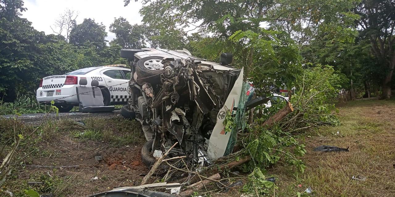 Aparatoso accidente en carretera de la Costa   El Imparcial de Oaxaca