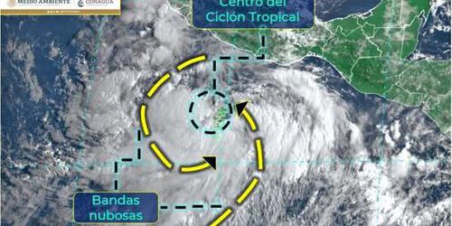 Prevén que 'Nora' toque tierra el domingo ya convertida en Huracán, 5 estados en alerta   El Imparcial de Oaxaca