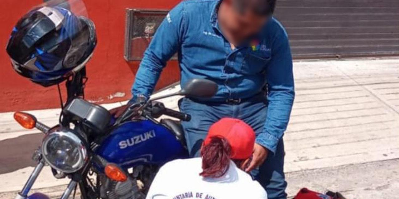 Choque en boulevard Eduardo Vasconcelos | El Imparcial de Oaxaca