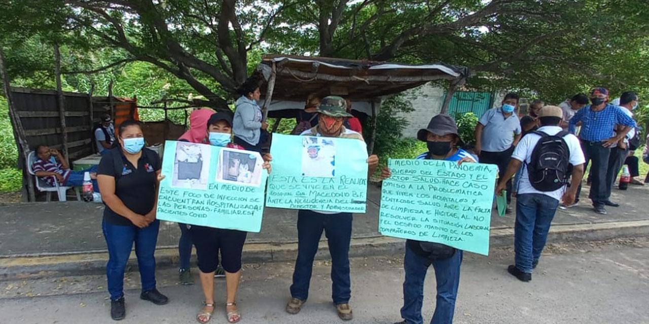 Paran labores en hospital de Juchitán   El Imparcial de Oaxaca