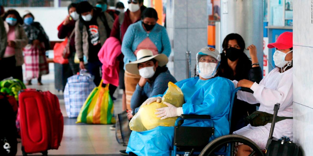 Perú cada vez más cerca de una tercera ola covid, advierte el gobierno | El Imparcial de Oaxaca