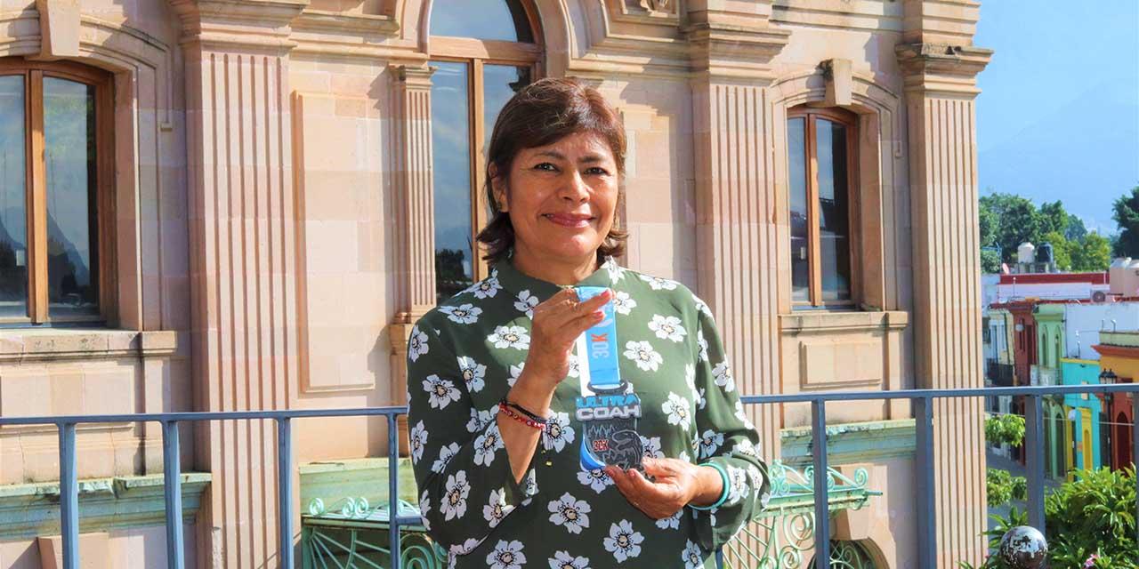 Pili es una ejemplar deportista | El Imparcial de Oaxaca