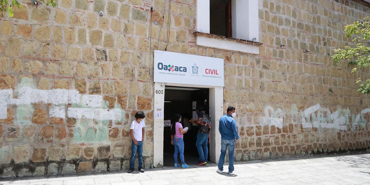 Cierran Archivo del Registro Civil por brote de Covid-19 | El Imparcial de Oaxaca