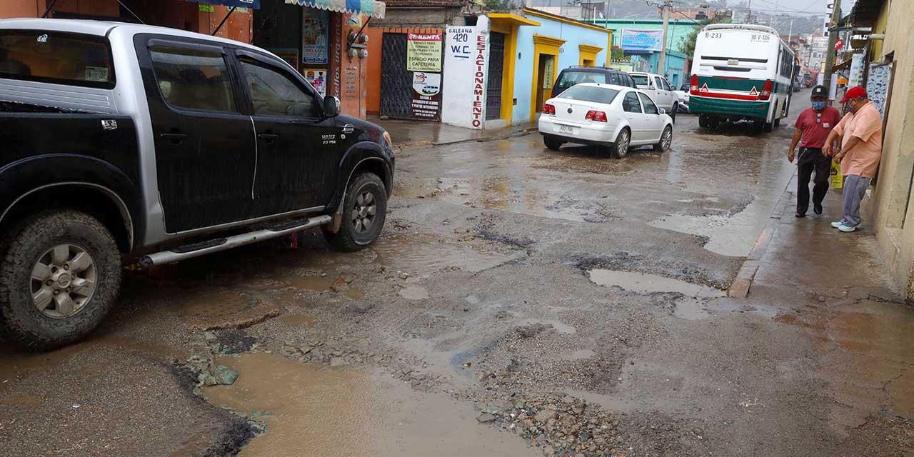 García Jarquín se encuentra en el penúltimo lugar del ranking de bacheo | El Imparcial de Oaxaca