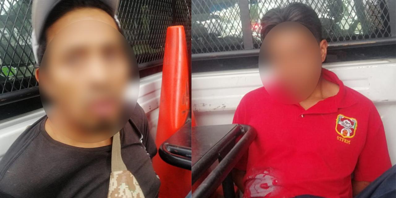 Tras persecución caen presuntos delincuentes | El Imparcial de Oaxaca