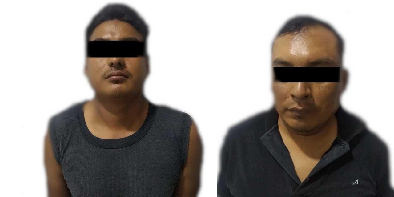Detienen a presunta pareja de asaltantes armados | El Imparcial de Oaxaca