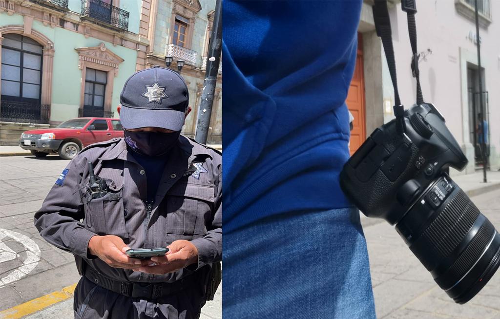¡No pasan! Ambulantes…¡ni prensa! al zócalo de Oaxaca de Juárez   El Imparcial de Oaxaca