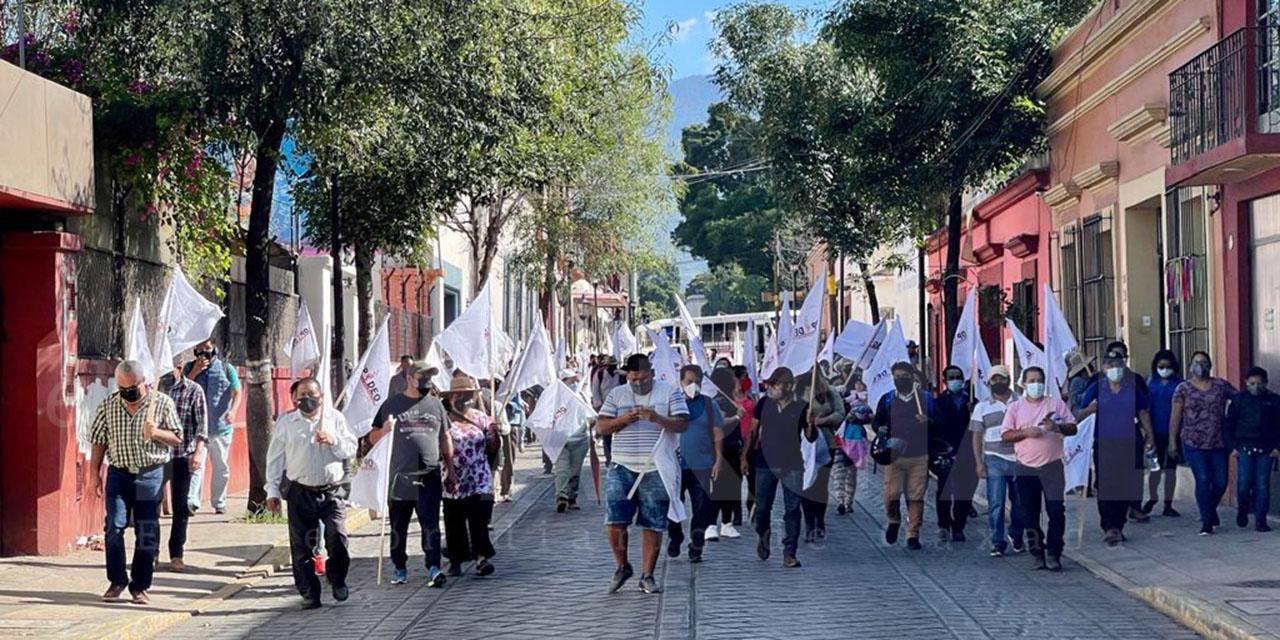 Incumple gobierno estatal con acuerdos firmados entre organizaciones sociales | El Imparcial de Oaxaca