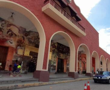 Comerciantes establecidos en el centro de Huajuapan, quienes menos utilizan cubrebocas
