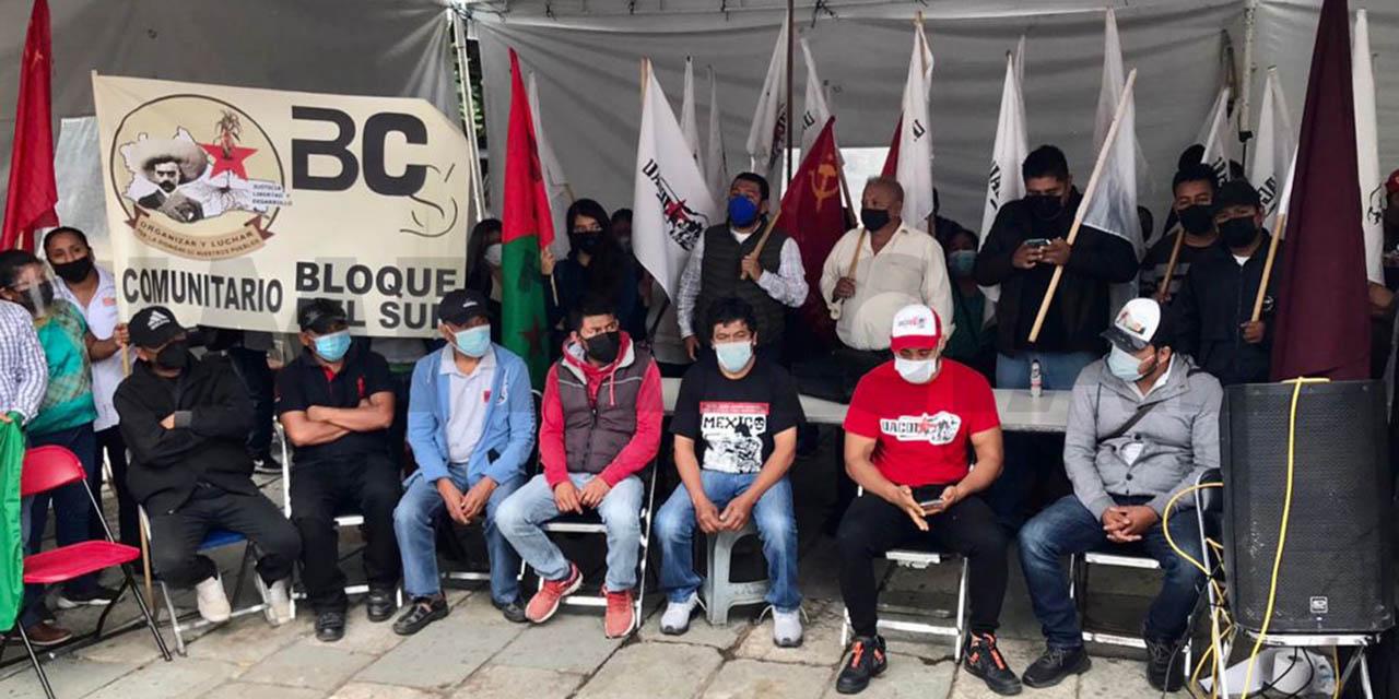 """Levantan huelga """"Por la Justicia y la Verdad""""   El Imparcial de Oaxaca"""