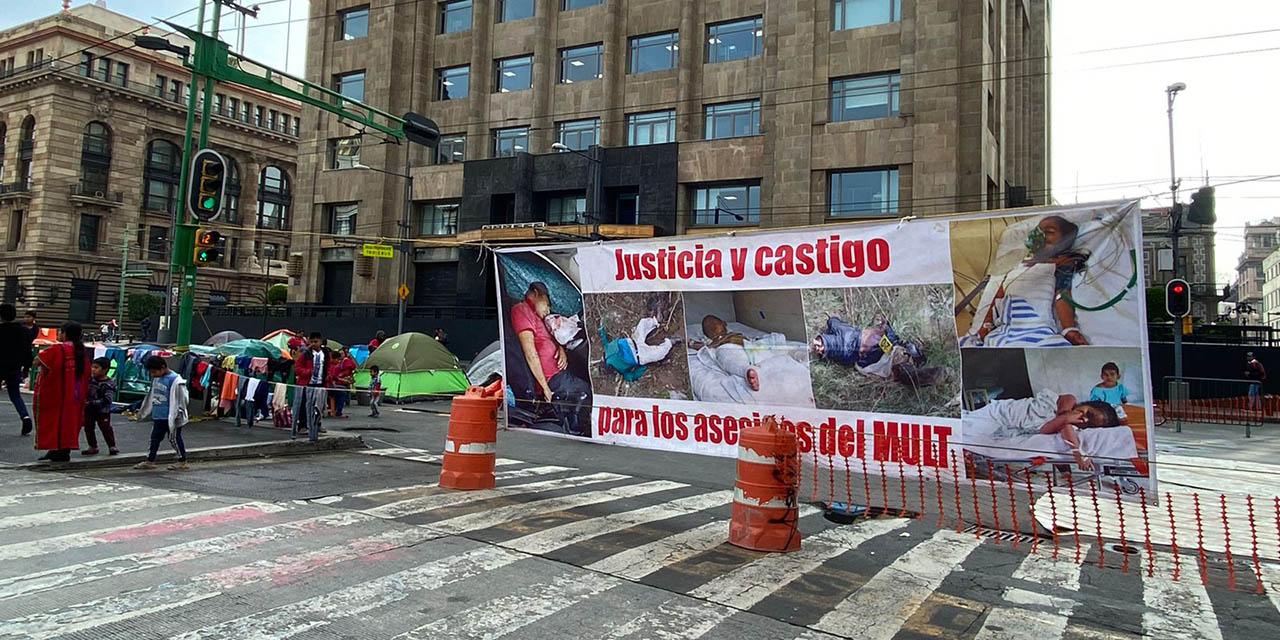 MULTI instala plantón en la CdMx   El Imparcial de Oaxaca