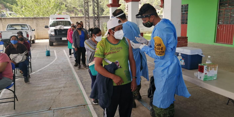 Comunidades mixtecas donde se aplica hoy la vacuna anti Covid | El Imparcial de Oaxaca